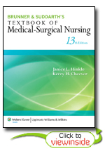 Brunner suddarths textbook of medical surgical nursing brunner suddarths textbook of medical surgical nursing thirteenth edition fandeluxe Image collections